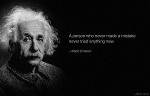 Albert Einstein Mistakes