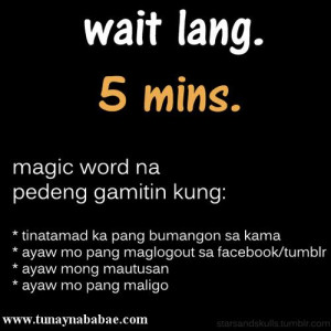Magic Words ng Tunay na Babae