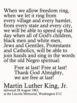 Martin Luther King I Have A Dream Quotes Martin luther king jr. filler