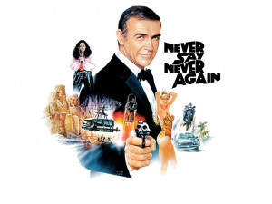 011 never say never again james bond wallpaper