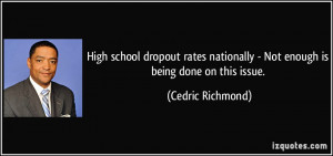 High school dropout rates nationally - Not enough is being done on ...