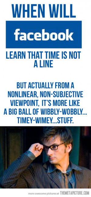Funny photos funny Facebook timeline Doctor Who