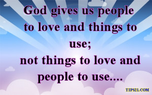 God Gives Us - Most Liked Facebook Status Pictures With Quotes