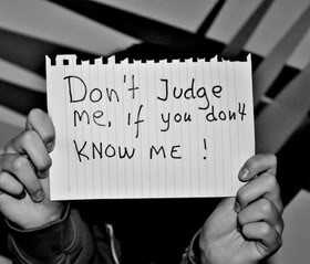 You Cant Judge Me Quotes