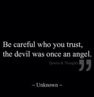Angels and the devil