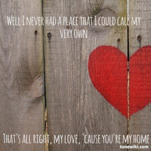 You're My Home