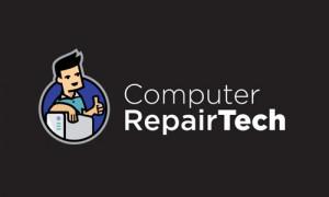 Computer Repair Tech Logo