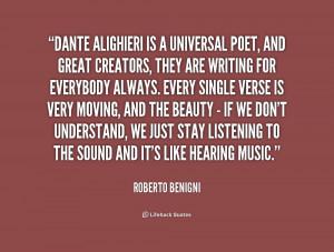 Dante Alighieri Famous Quotes