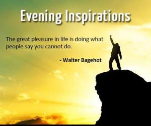 Evening inspirations...