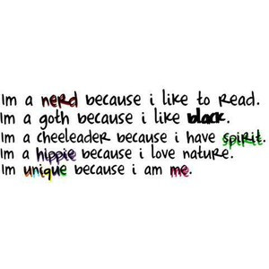 Nerd Because I Like To Read….