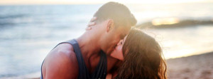 Beach Kiss Timeline Banner