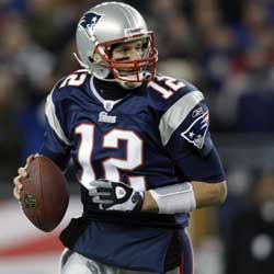 ... Tom Brady and the Patriots as the hard-working, blue-collar type, we