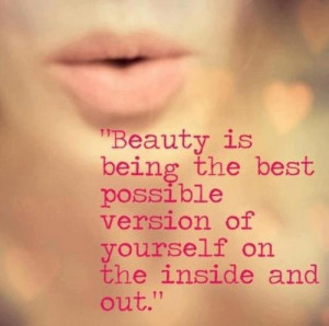 True Beauty .. This is very true !