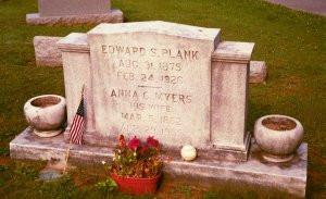 Eddie Plank Grave