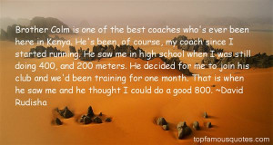 David Rudisha Quotes Pictures