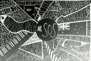 Go Back > Pix For > 5sos Logo Black Background