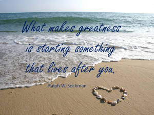 What Makes Greatness