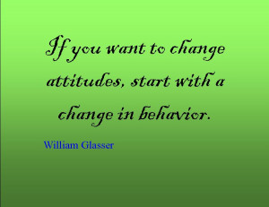Quote of the Day : William Glasser