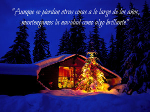 Pensamientos de Navidad y de Año Nuevo