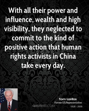 With all their power and influence, wealth and high visibility, they ...