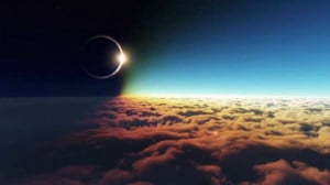 clouds outer space eclipse solar eclipse 1920 1080 blue outer