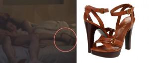Lauren By Ralph Lauren Falan Vachetta Platform Sandal In Brown Polo