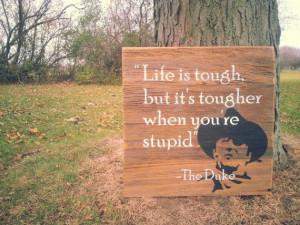John Wayne The Duke Quote on reclaimed barn wood by RusstyBucket, $100 ...