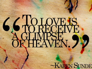colorfully streaked love quote picture expresses how love makes you ...
