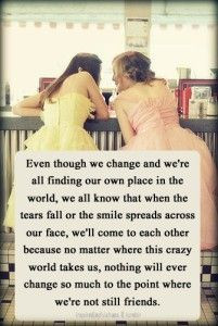 long distance friends | ... with Friends , friends quote , friendship ...