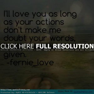 Trust Love Quotes For Relationships Trust love relationships