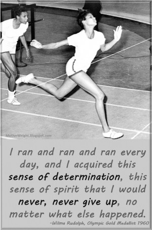 THE WILMA RUDOLPH STORY
