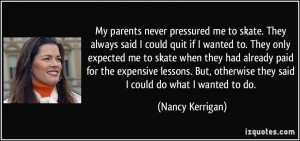 More Nancy Kerrigan Quotes