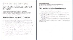 Related to Senior System Administrator Job Description
