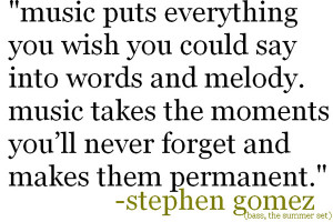 Music Quotes by Musicians