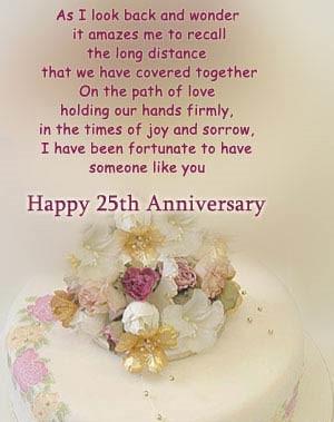 Happy 25th Wedding Anniversary Quotes