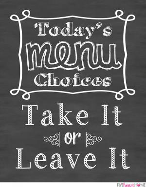 Kitchen Art Quotes