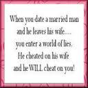 the best surviving infidelity quote for me was the one mentioned by ...