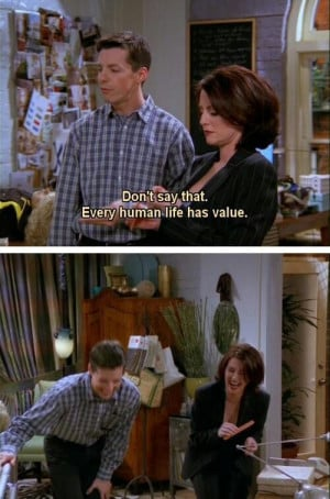 Karen and Jack...fantastic pair as friends! Will and Grace.