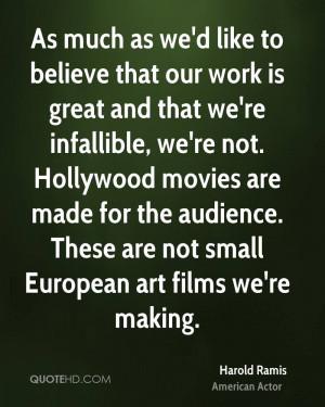 Harold Ramis Movies Quotes