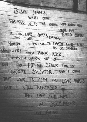 quote text lyrics lana del rey Born To Die blue jeans