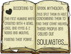Soulmate Quotes Greek Mythology Greek Mythology Quotes
