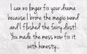 Sick Drama Quotes Fstatuses...