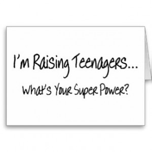 Raising Teens, Lessons Learned