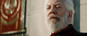 Hunger Games Catching Fire trailer in pictures - President Snow looks ...