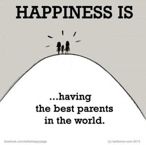 Having the best parents