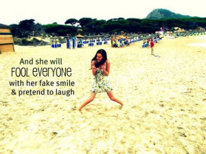 girl, love, quotes, beach, sayings, fake, best | Inspirational ...