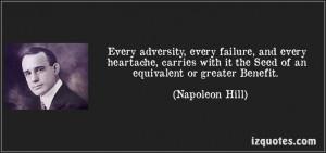 ... Benefit. (Napoleon Hill) #quotes #quote #quotations #NapoleonHill