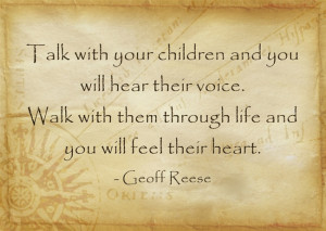 Talk-with-your-children quote