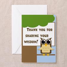 School Principal Greeting Cards