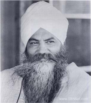 Sri Singh Sahib Harbhajan Singh Khalsa Yogi Ji